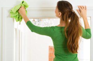تنظيف البيت من الغبار